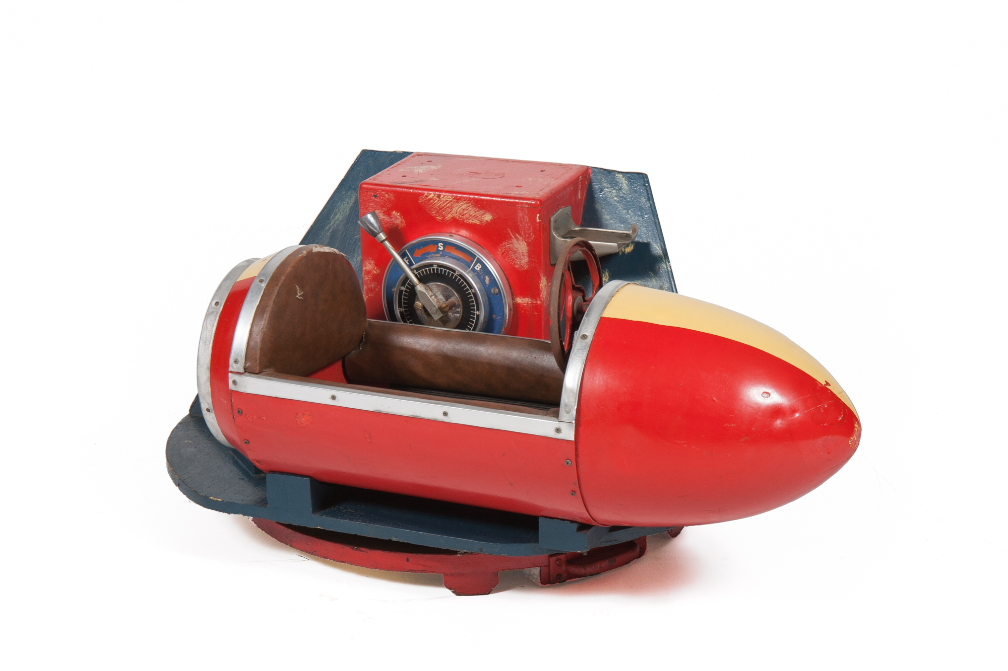 Coin-Op Amusement Ride – Rocketship (circa 1940) - Length 3'0""