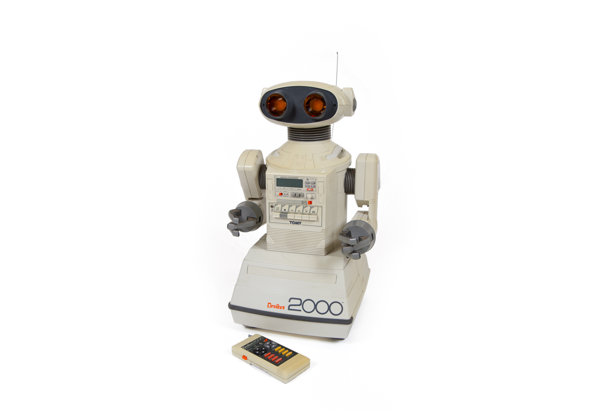 Omnibot 2000 Remote Controlled Robot (Tomy, Japan circa 1985) - Height 2'0""