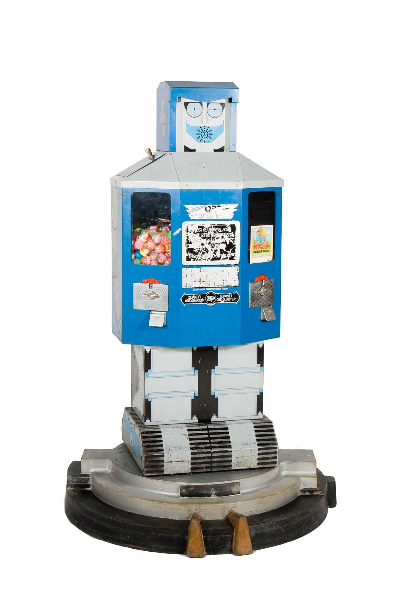 "Vending Machine Robot - ""Zord"" (circa 1975)"
