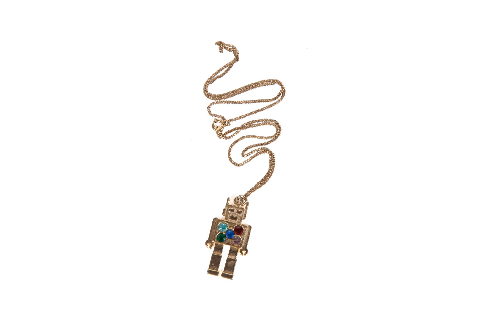 Robot Necklace (circa 1980)