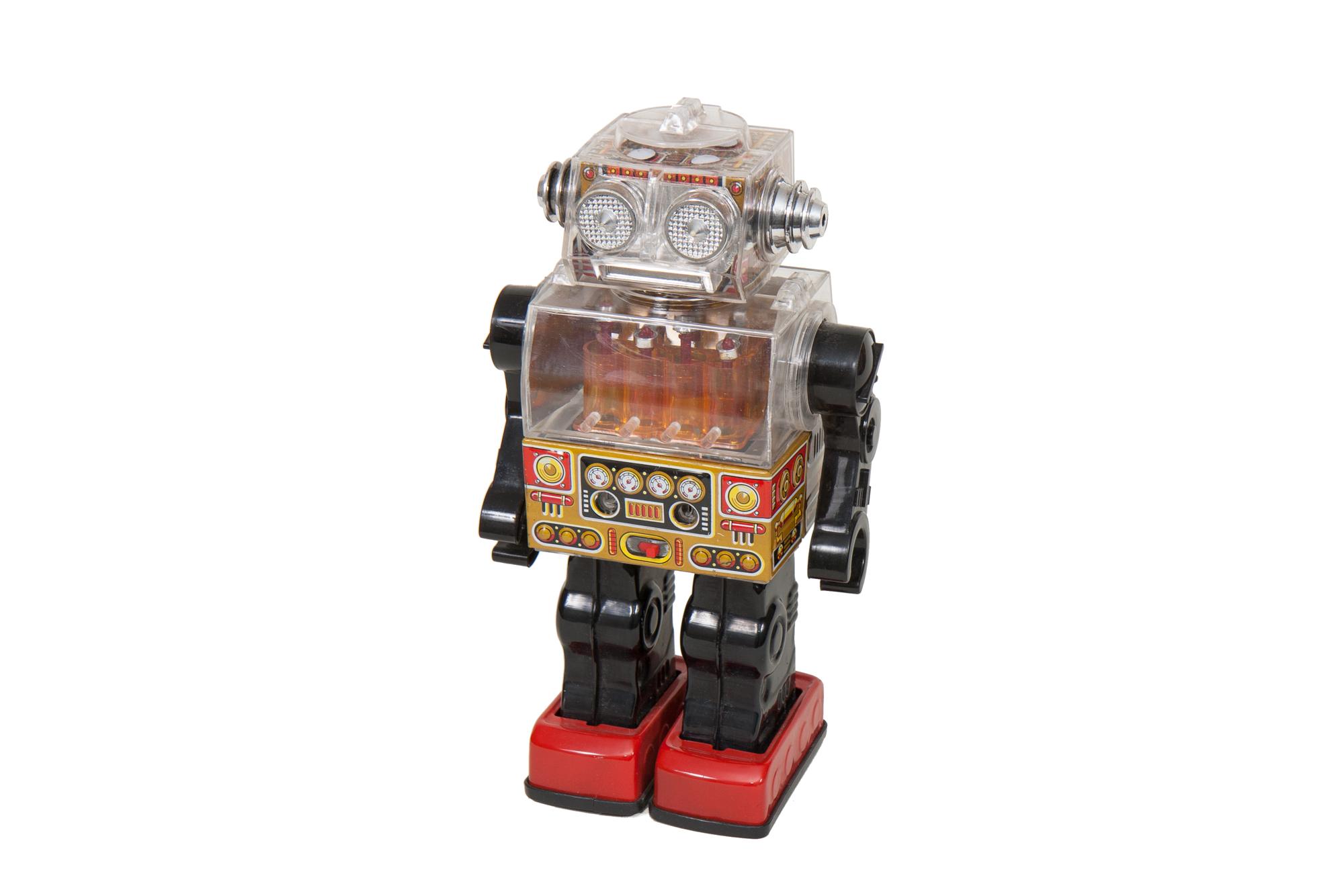 Toy Robot – Plastic and Tin (Japan circa 1970)