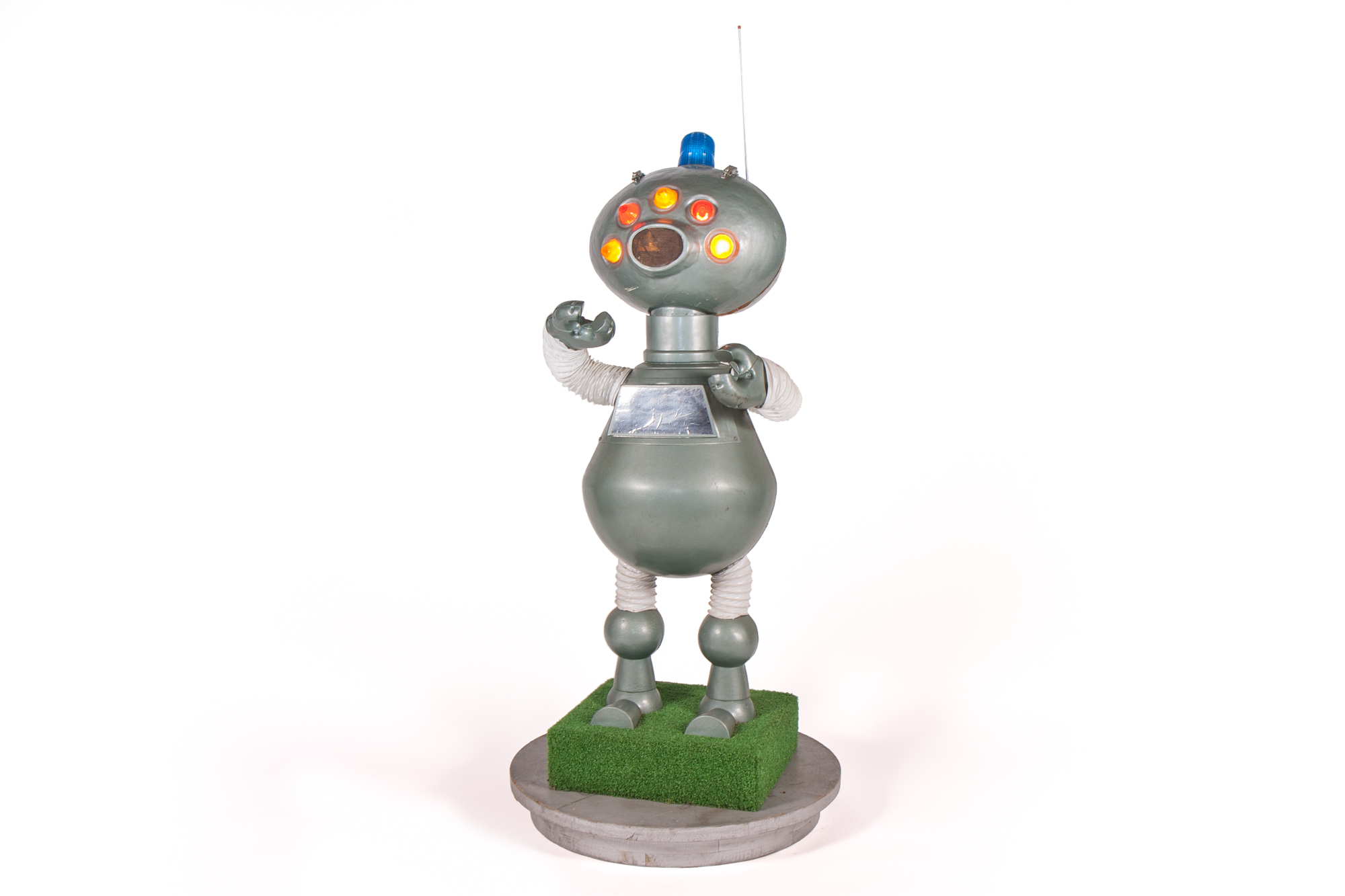 Promotional Display Robot – Molded Plastic (American circa 1970) - Height 5'1""