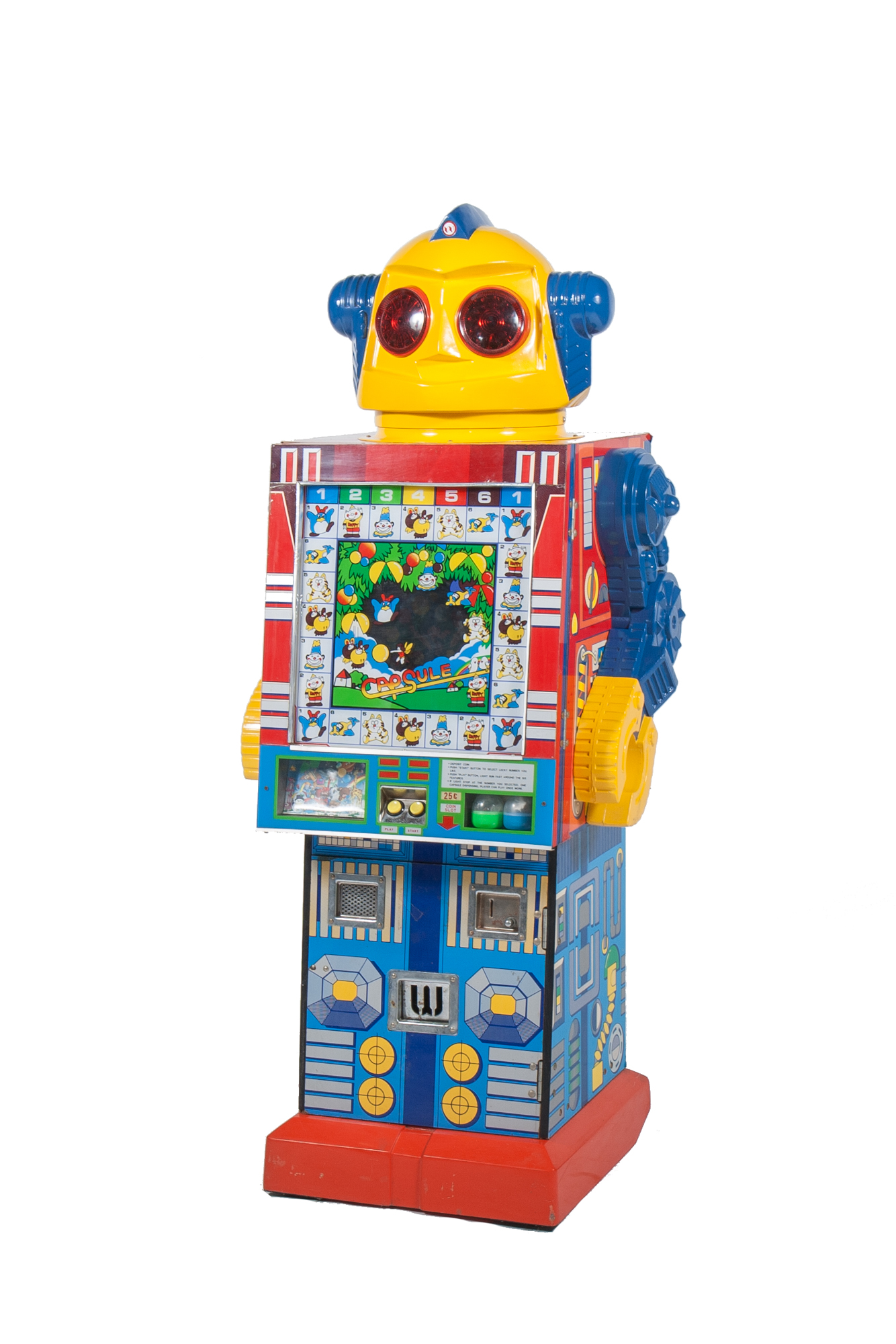 Vending Machine – Transformer-Style Robot (1985) - Height 4'10""