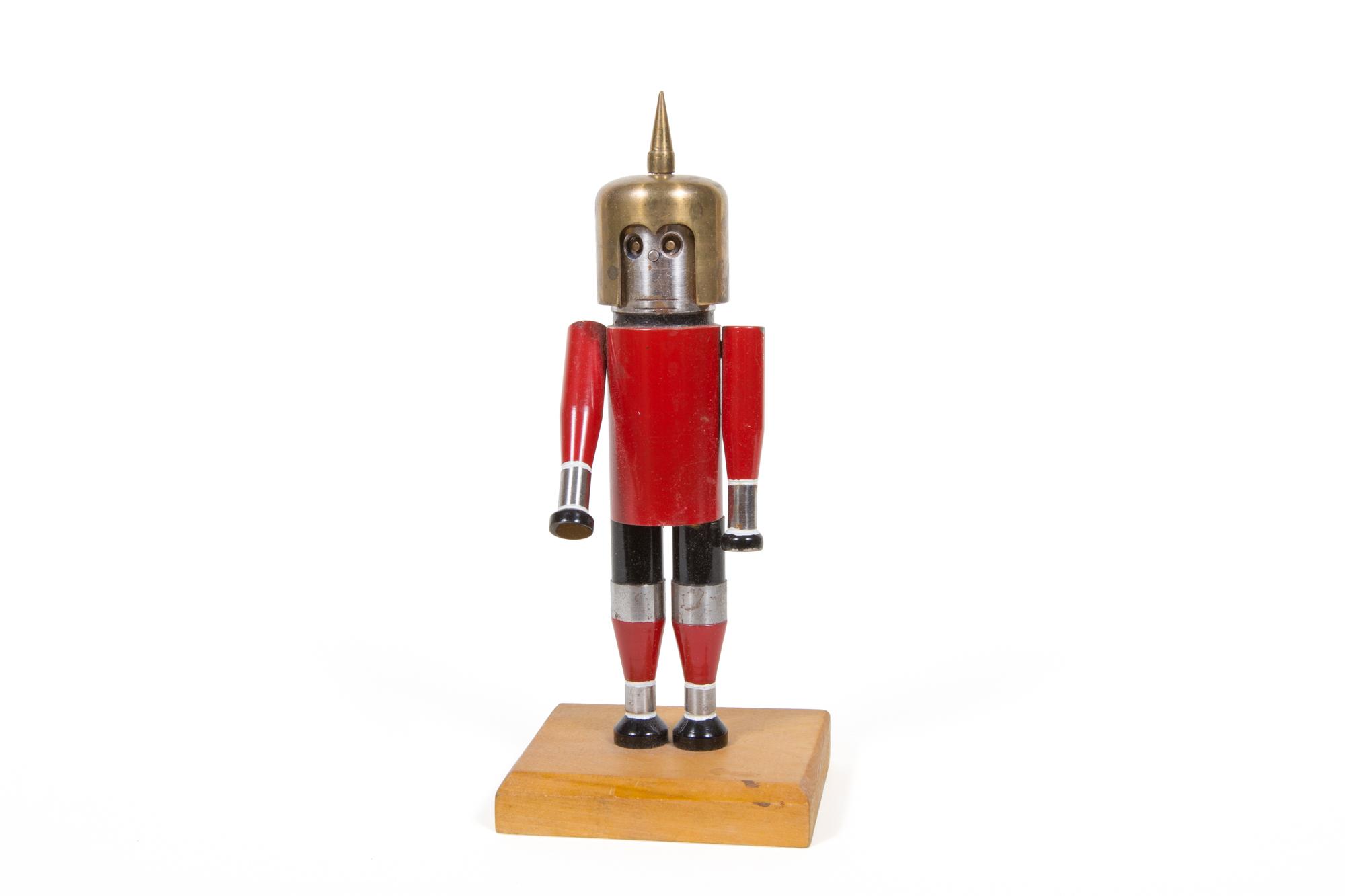 "Machine Shop Robot Spaceman (American circa 1970) - Height 9"""