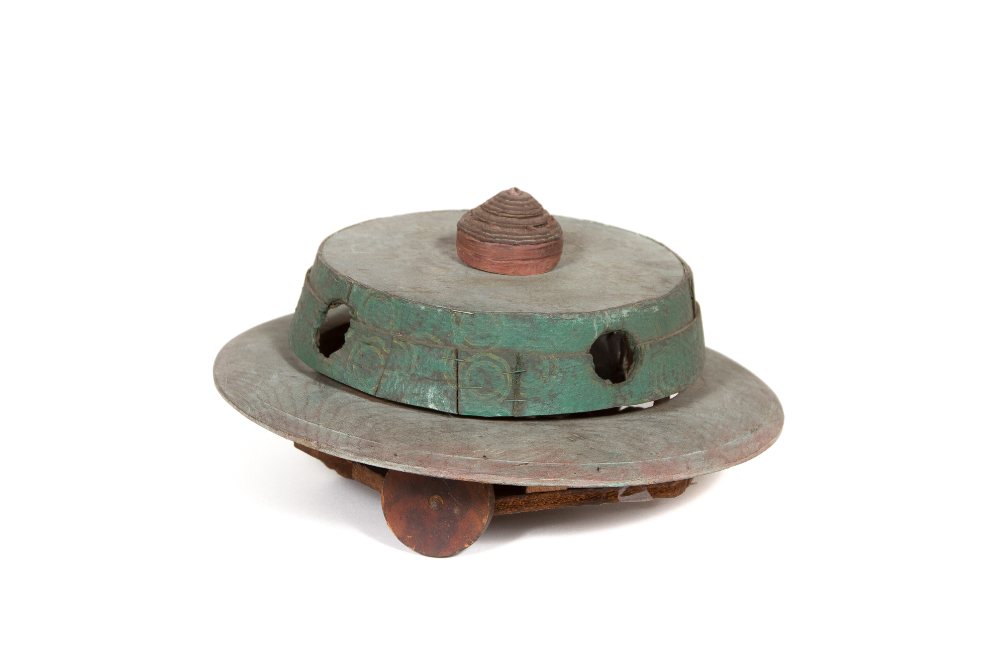 Folk Art Toy – Flying Saucer (circa 1945)