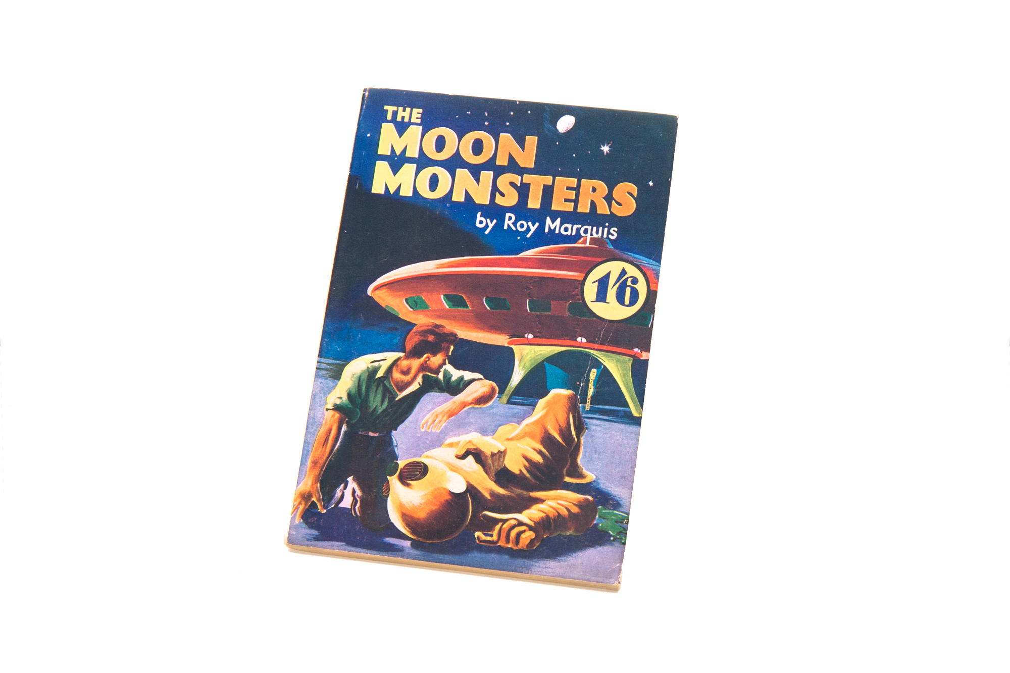 Paperback Book – The Moon Monsters by Roy Marquis (1951)