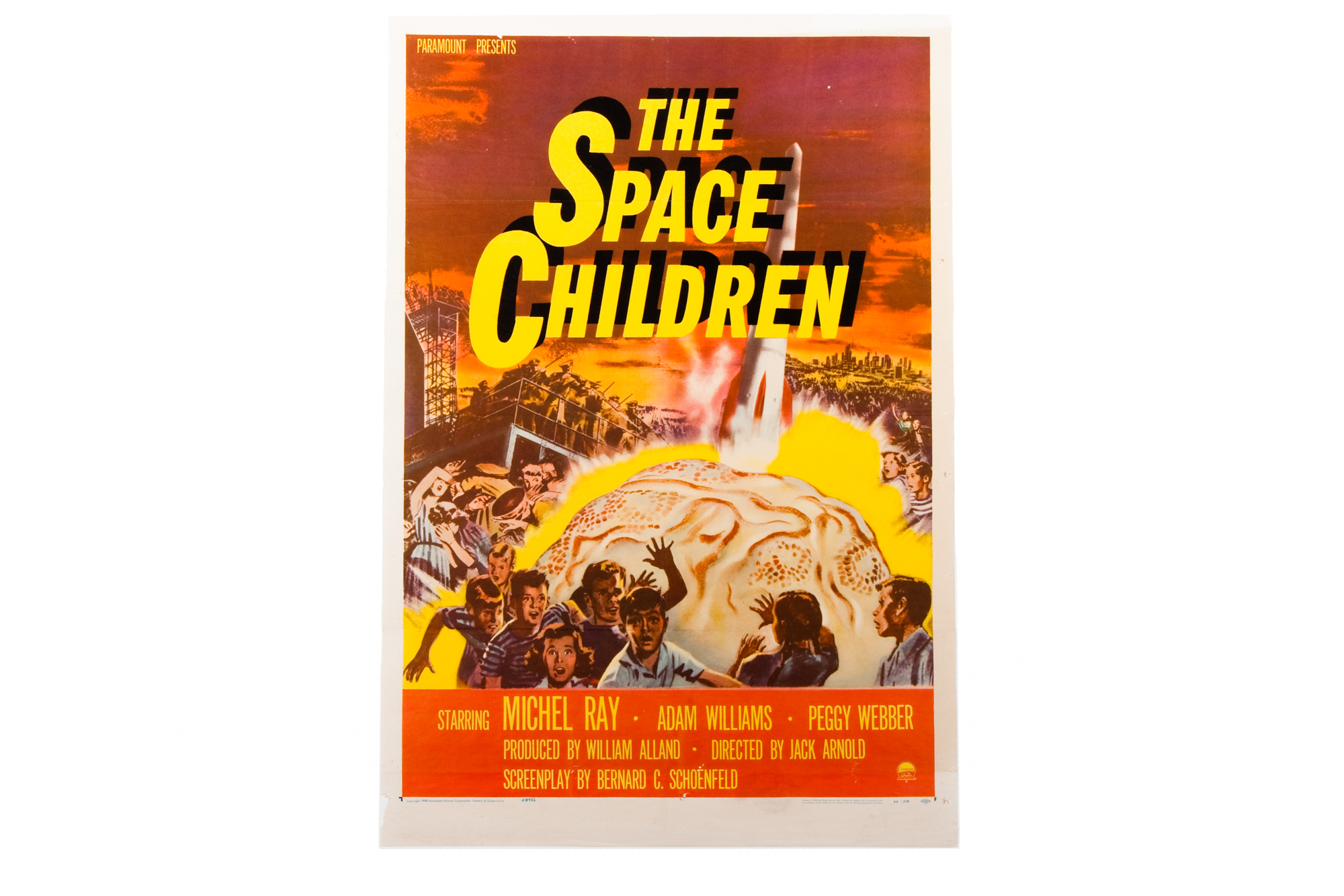 "Movie Poster – ""The Space Children"" (1958)"