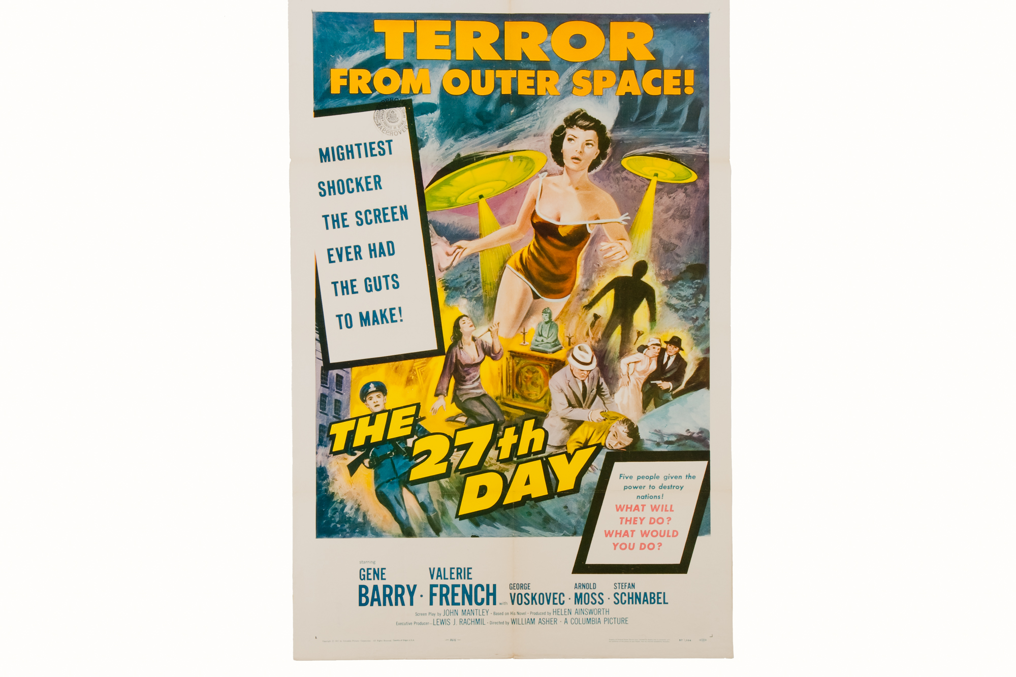 "Movie Poster – ""The 27th Day"" (1957)"
