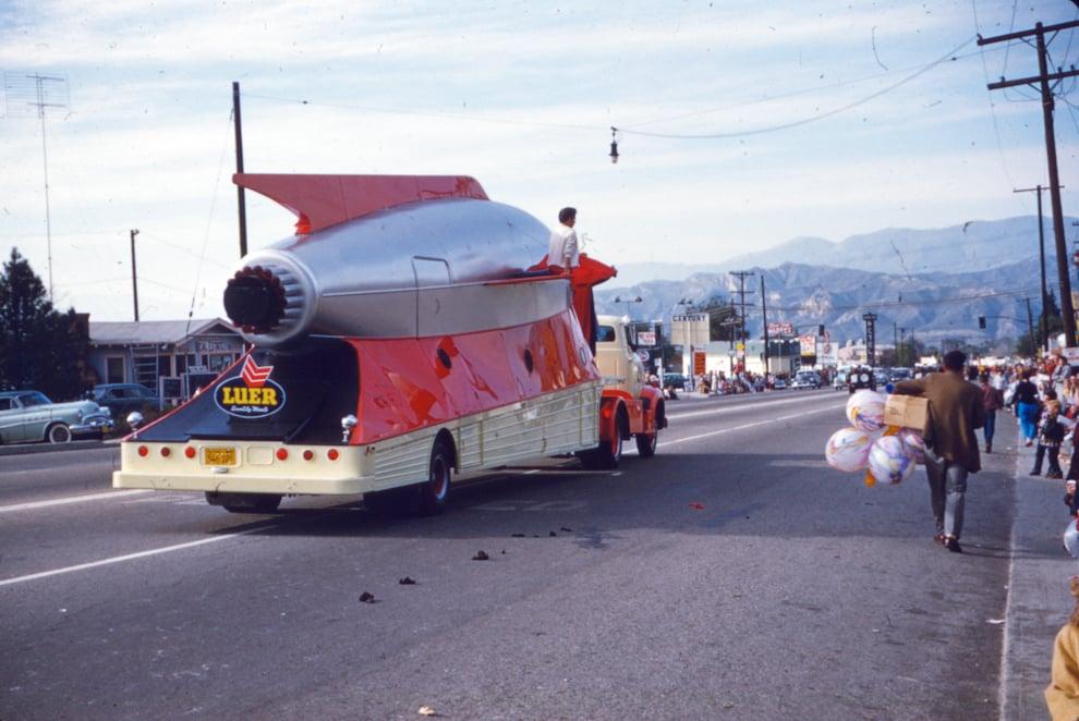 Luer Rocket -Southern California;circa 1955.