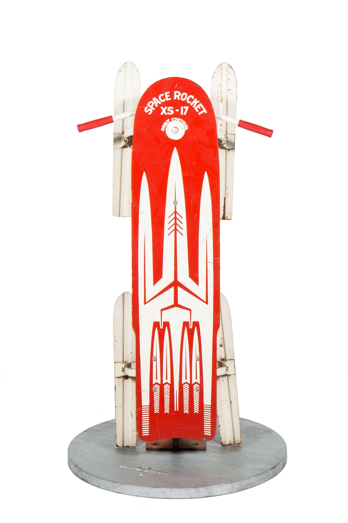 Sled – Space Rocket XS-17 (circa 1970) - Length 4'3""