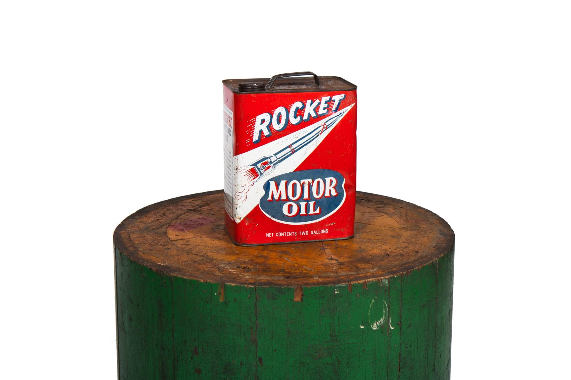 """Oil Can - """"Rocket Motor Oil"""" (circa 1965)"""
