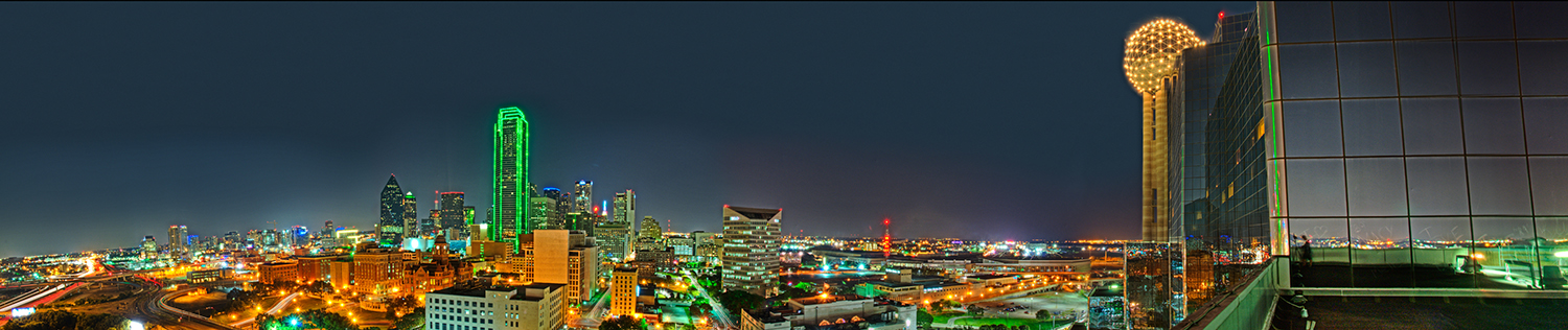 Dallas Skyline from Hyatt Regency