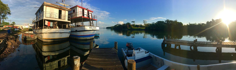 Docks, La Ceiba, Honduras