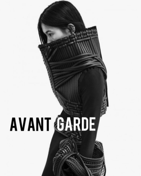 Avant-garde is defined by introducing new and experimental ideas and methods, and takes some profound oppositional stance or is a rejection of the status quo. It rejects convention in some way and challenges what's acceptable. Avant-garde appeals to creatives, intellectuals, those who grasp abstract concepts, but most importantly to non-conformists - those who don't like to neatly fit into a box. - Pictured: Design by Sarah Ryan