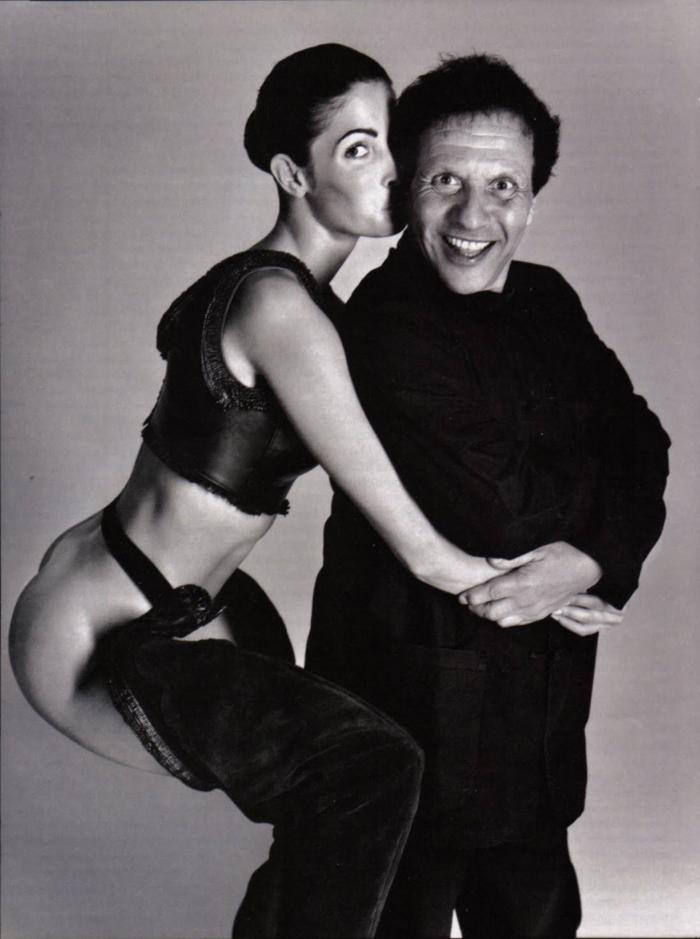 Captured by Richard Avedon, model Stephanie Seymour shared a close friendship Mr Alaia.
