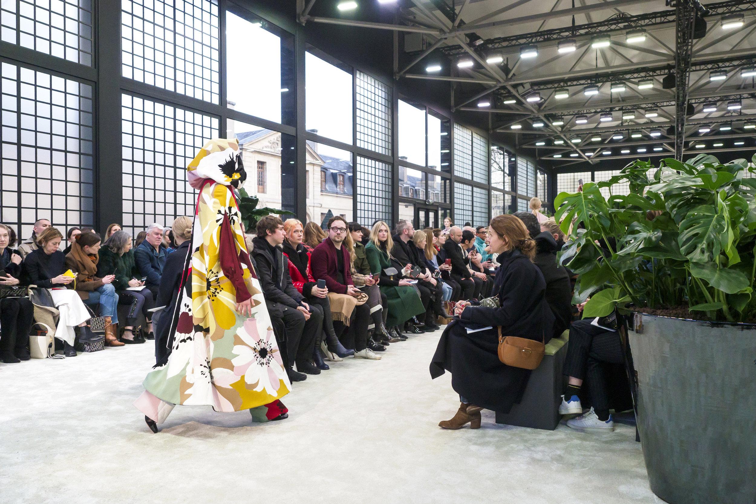 Valentino Autumn/Winter '18 at Paris Fashion Week (Photo: theimpression.com)