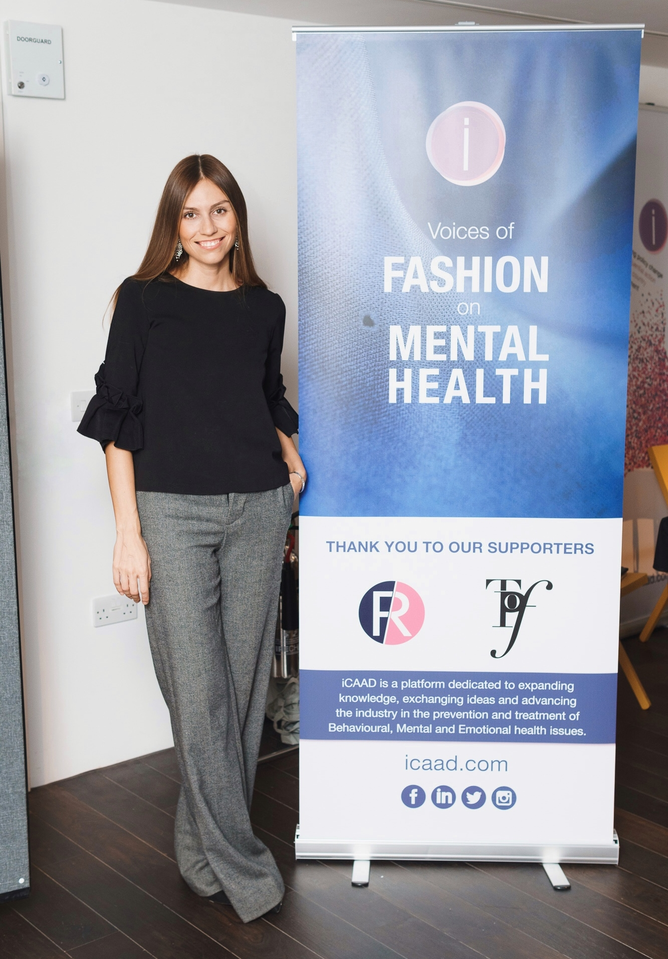 The Psychology of Fashion was one of iCAAD's partners for The Voices of Fashion on Mental Health conference.