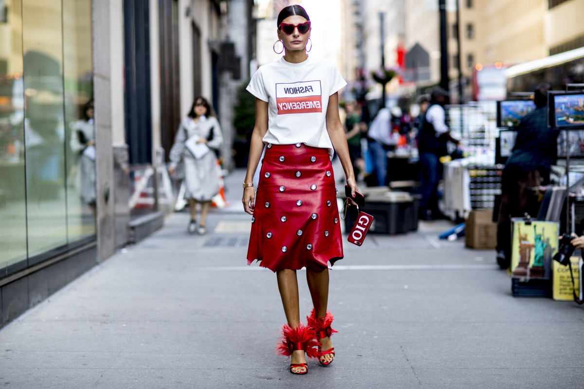 Giovanna Battaglia's bold personal style suggests a personality high in extraversion and openness to experience and low in neuroticism. Photo: fashionista.com