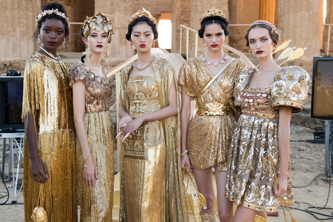 Dolce & Gabbana Alta Moda (Photo: vogue.com)