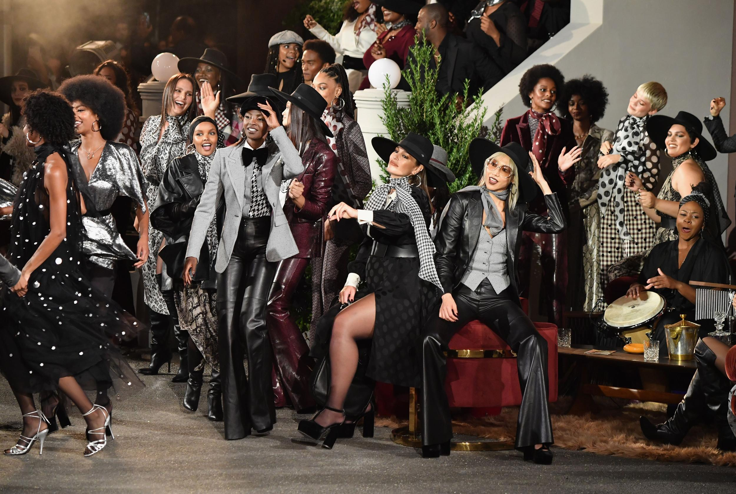 Tommy Hilfiger's FW19 see-now buy-now show in Harlem. (Photo: independent.co.uk)