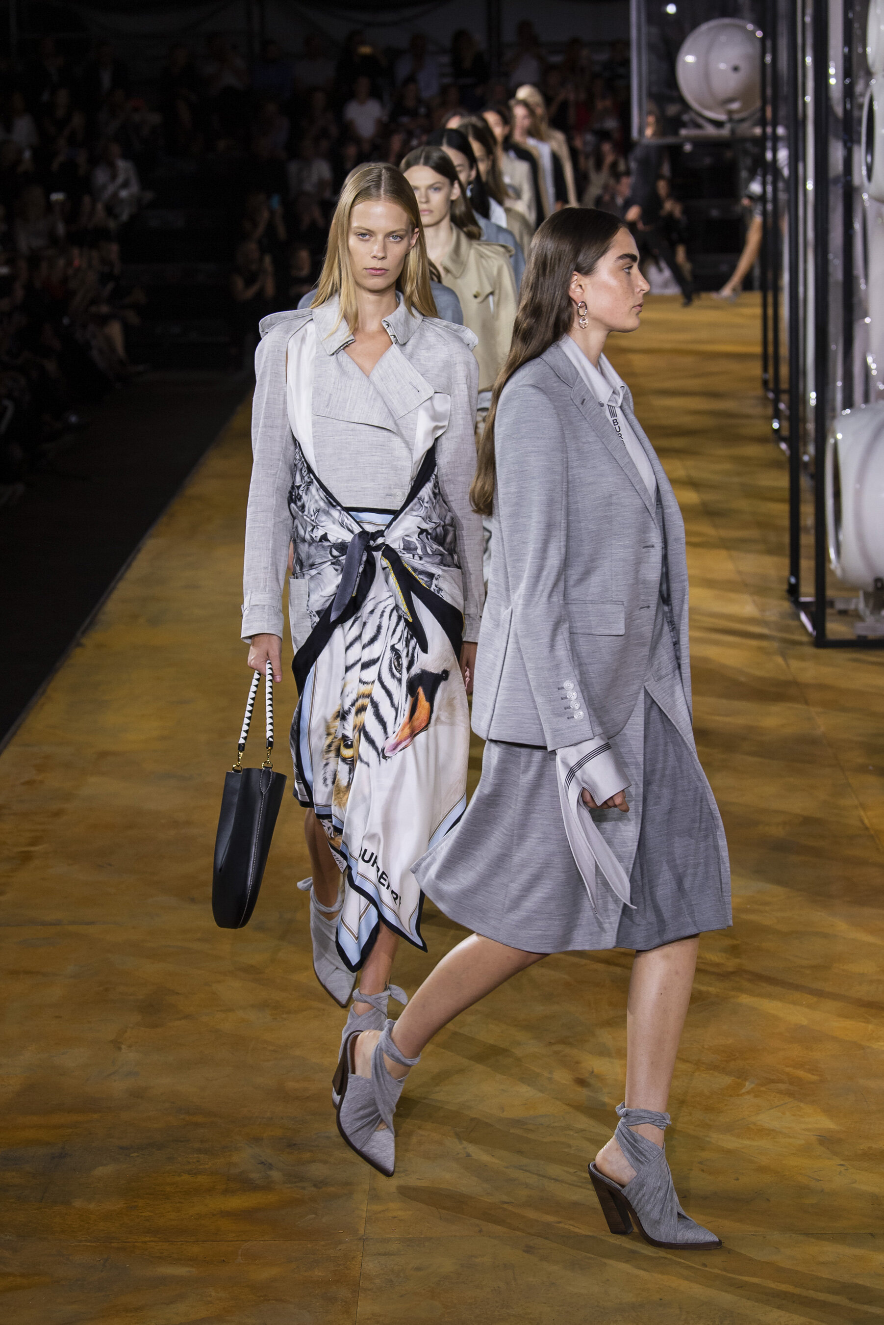 Burberry SS20 by Riccardo Tisci as part of London Fashion Week.