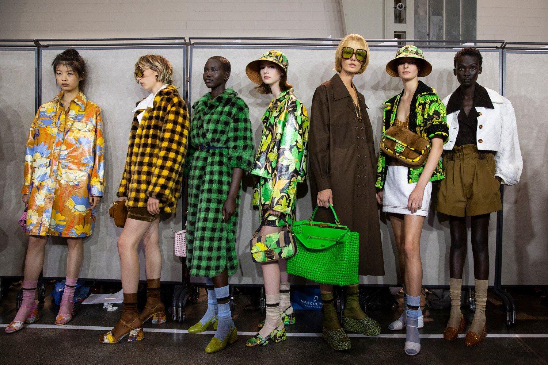 Fendi SS20 by Silvia Venturini at Milan Fashion Week. (Photo: theimpression.com)