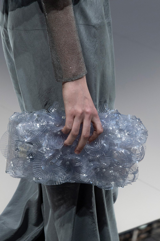 Details at Giorgio Armani SS20 at Milan Fashion Week. (Photo: theimpression.com)