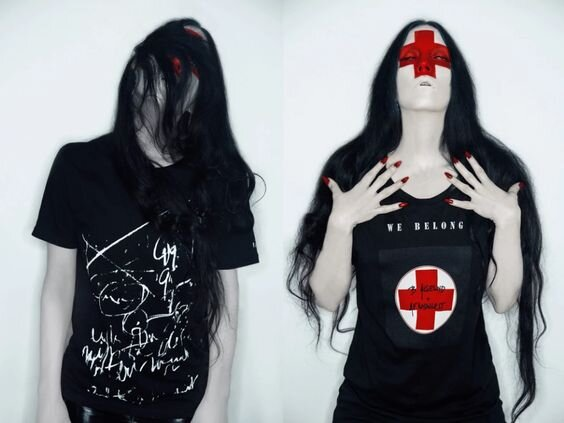 A.F. Vandevorst x B. Åkerlund - the brand collaborated with the Swedish fashion activist on a capsule collection of t-shirts.