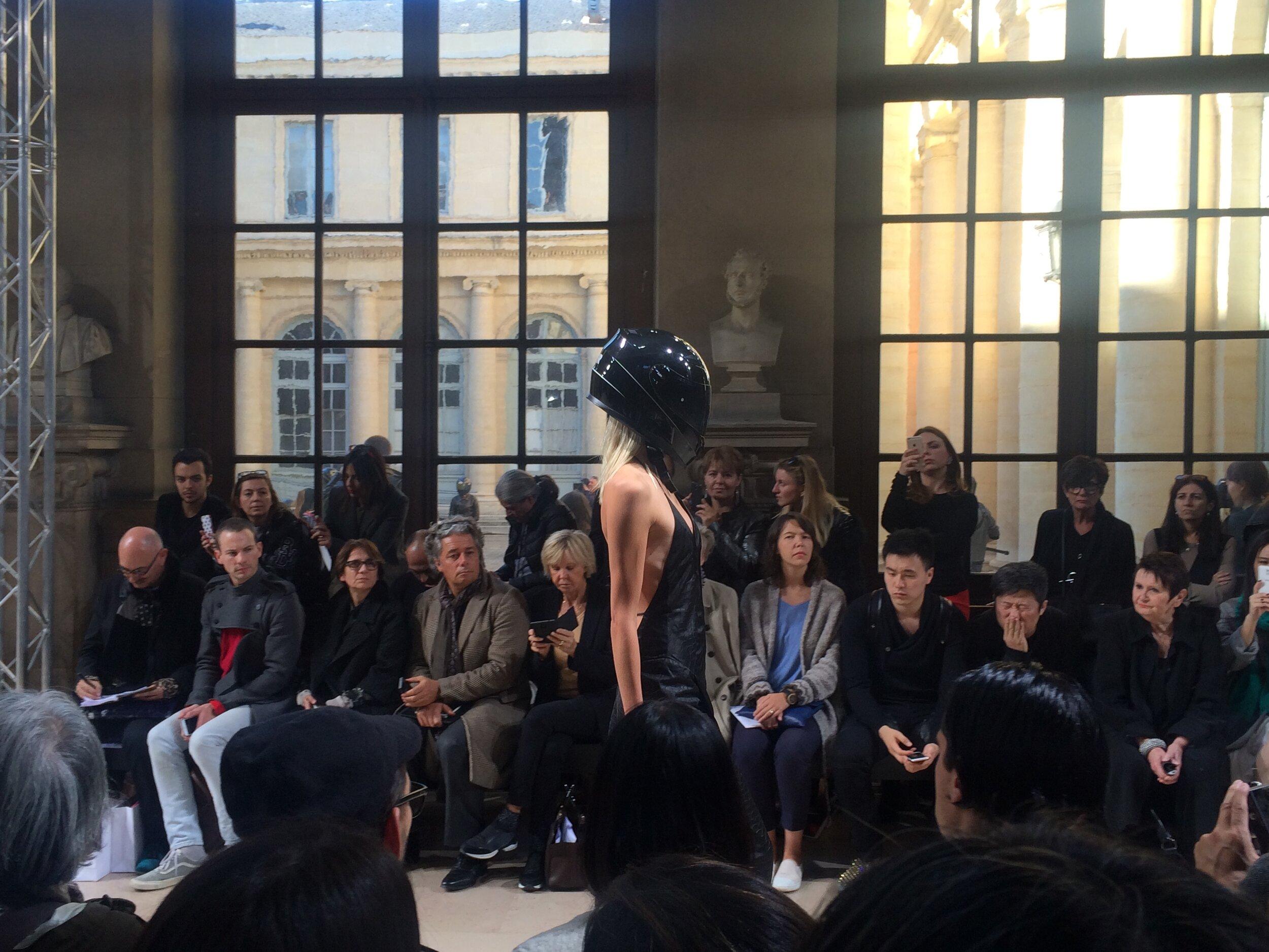A.F. Vandevorst SS16 - a standout collection - at Paris Fashion Week.