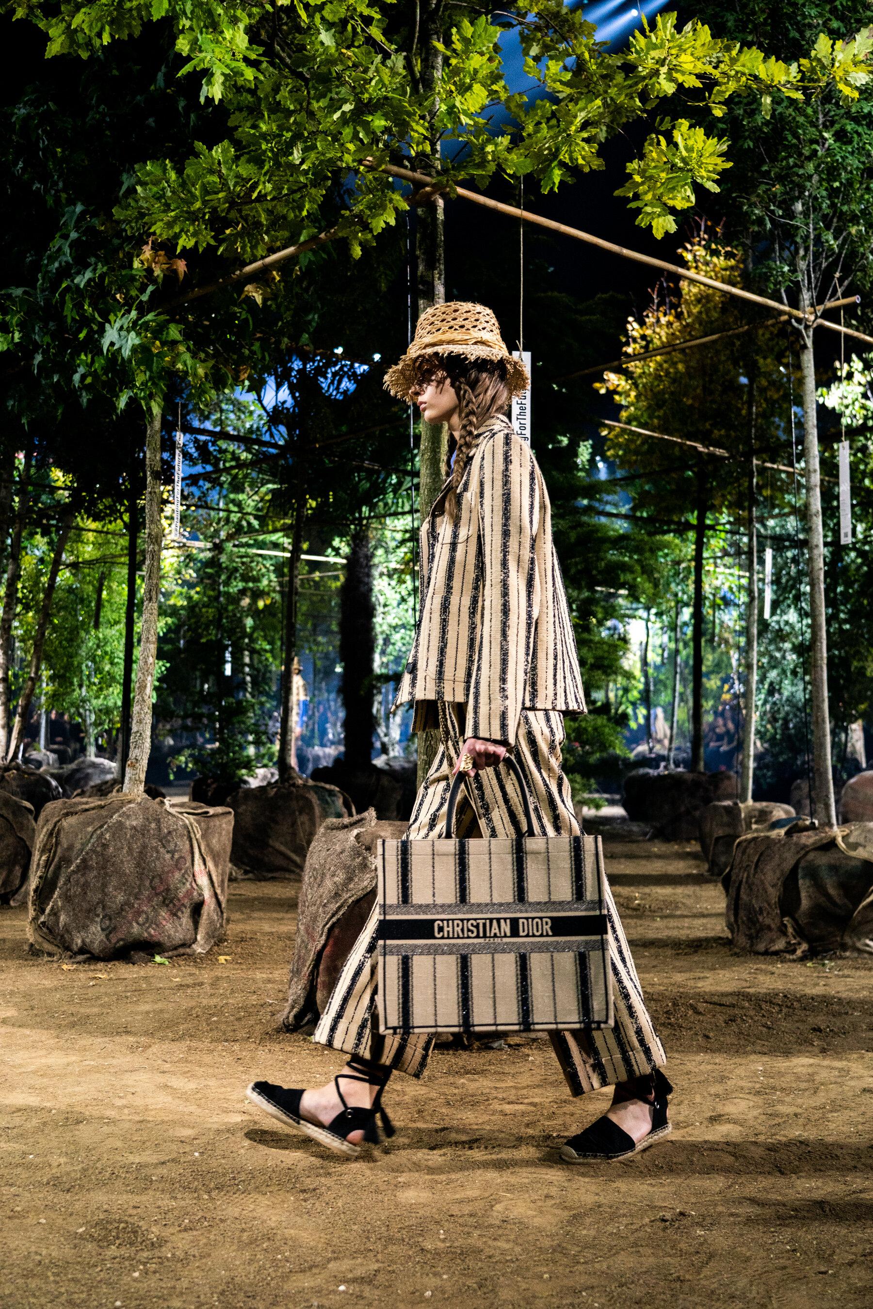 "Maria Grazia Chiuri's Christian Dior set among an ""inclusive garden"". (Photo: theimpression.com)"