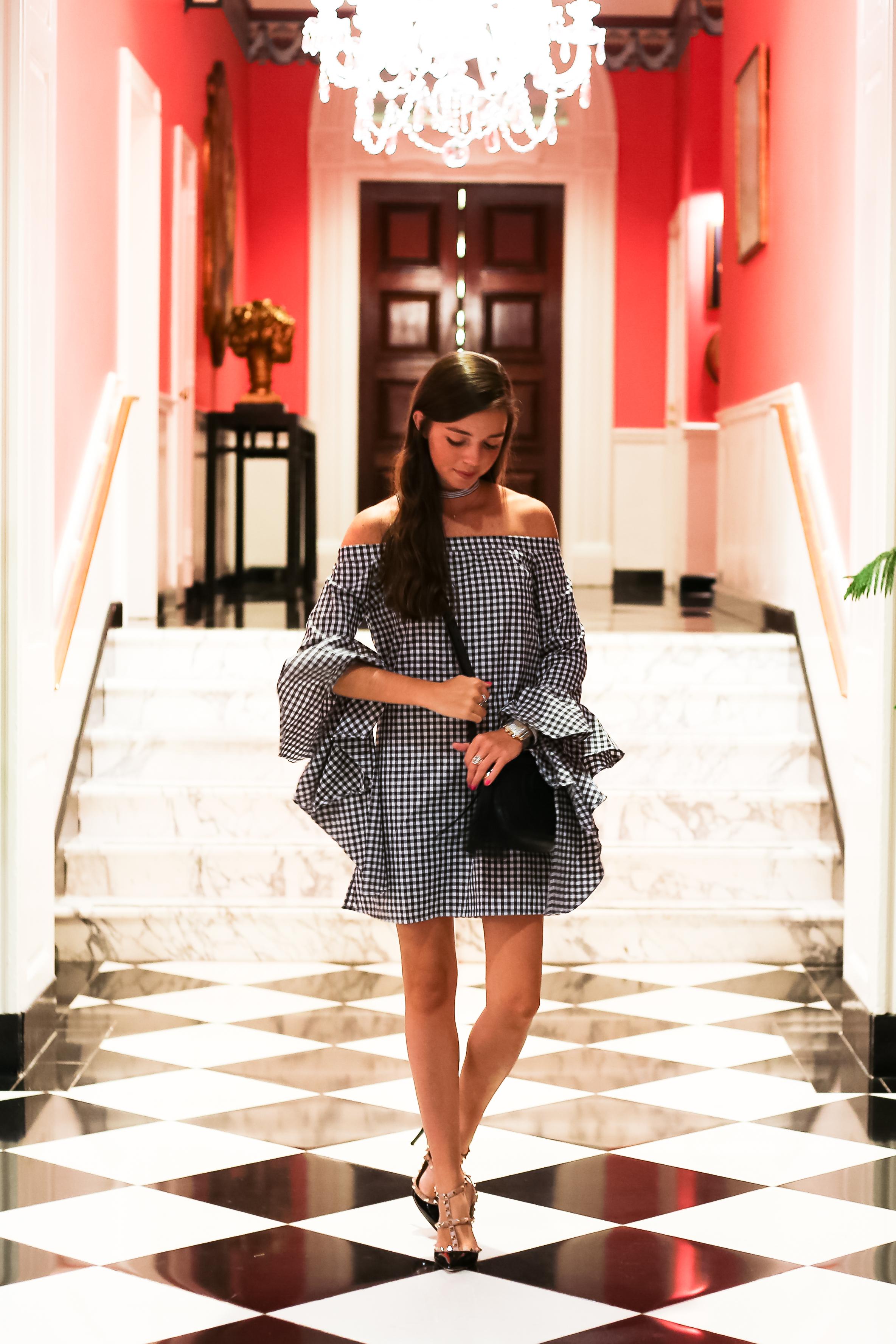 fashion blogger lcb style greenbrier hotel america gingham valentino (10 of 23).jpg