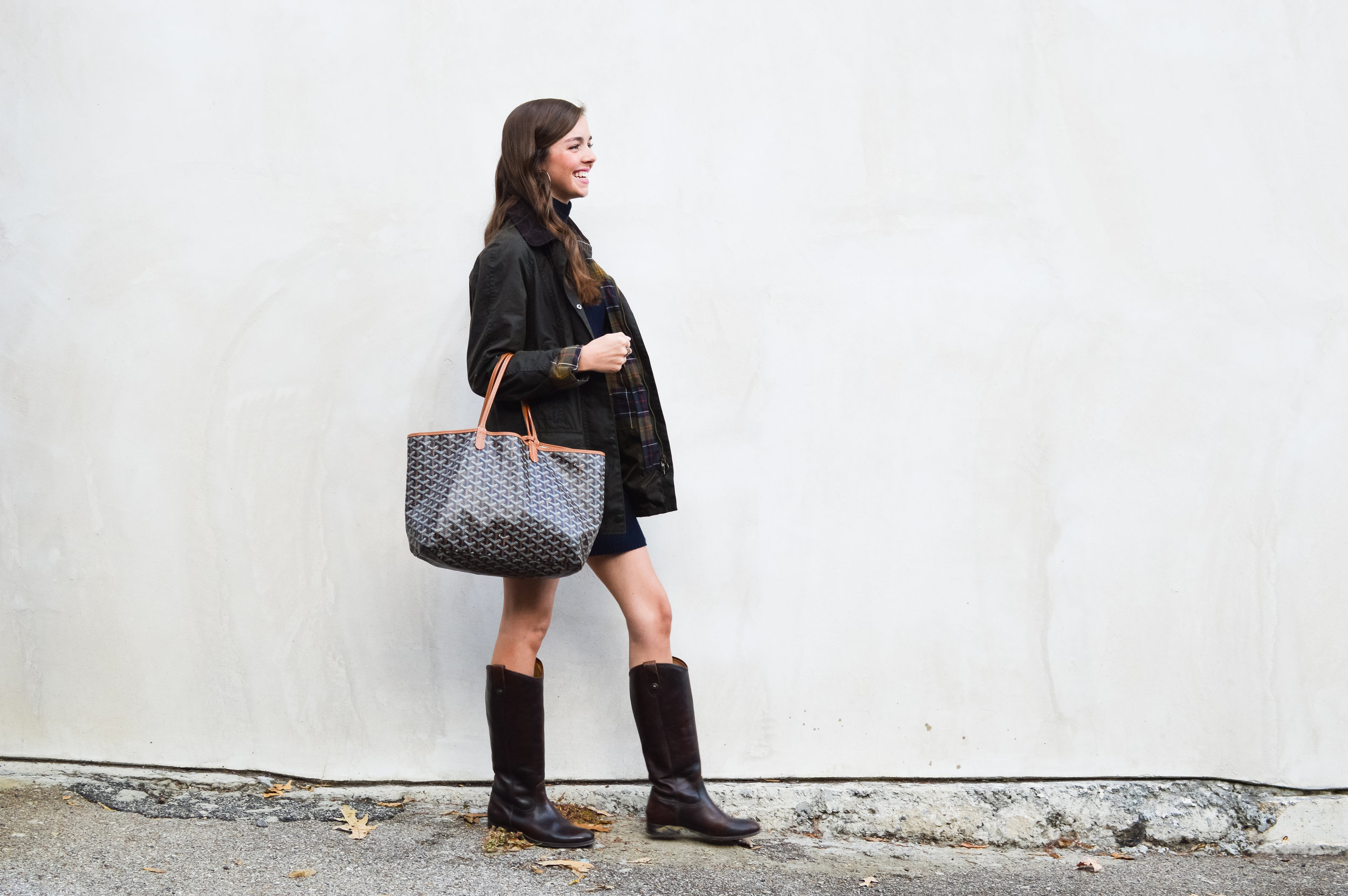 fashion blogger lcb style tory burch sweater dress frye boots barbour beadnell jacket  (19 of 43).jpg
