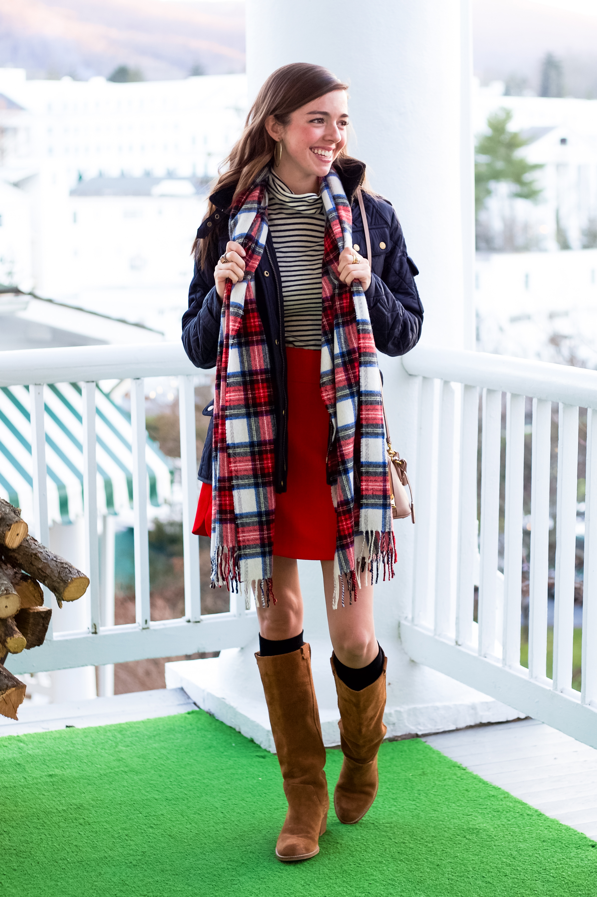 fashion blogger lcb style greenbrier resort christmas barbour international jacket (8 of 32).jpg