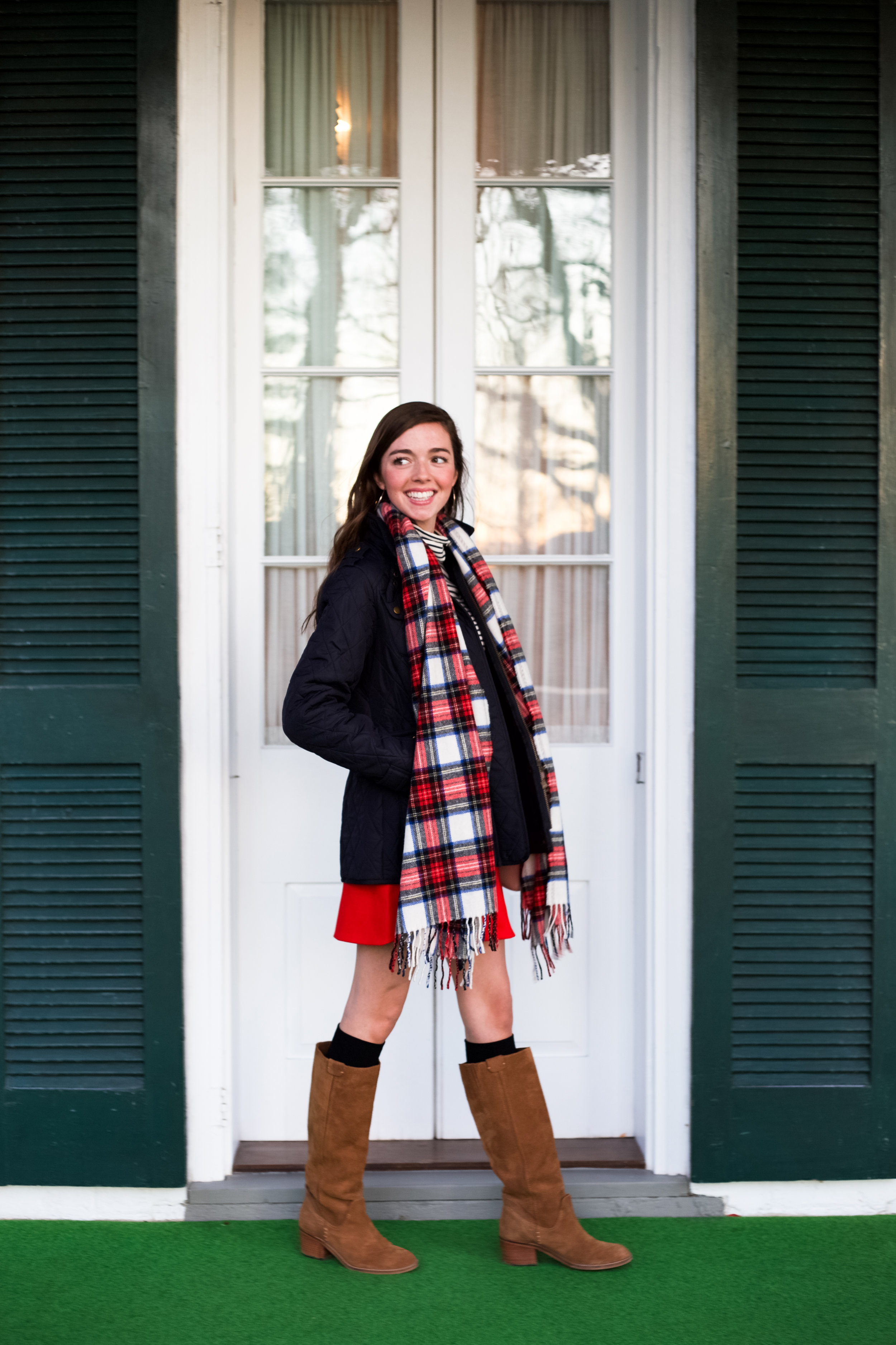 fashion blogger lcb style greenbrier resort christmas barbour international jacket (15 of 32).jpg