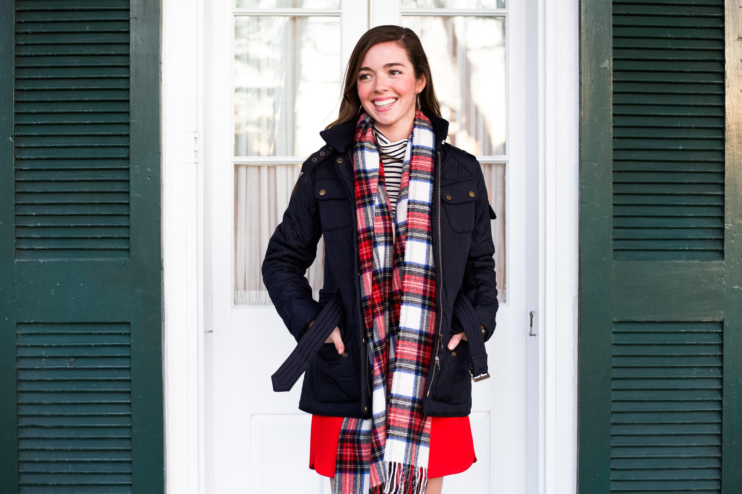 fashion blogger lcb style greenbrier resort christmas barbour international jacket (19 of 32).jpg