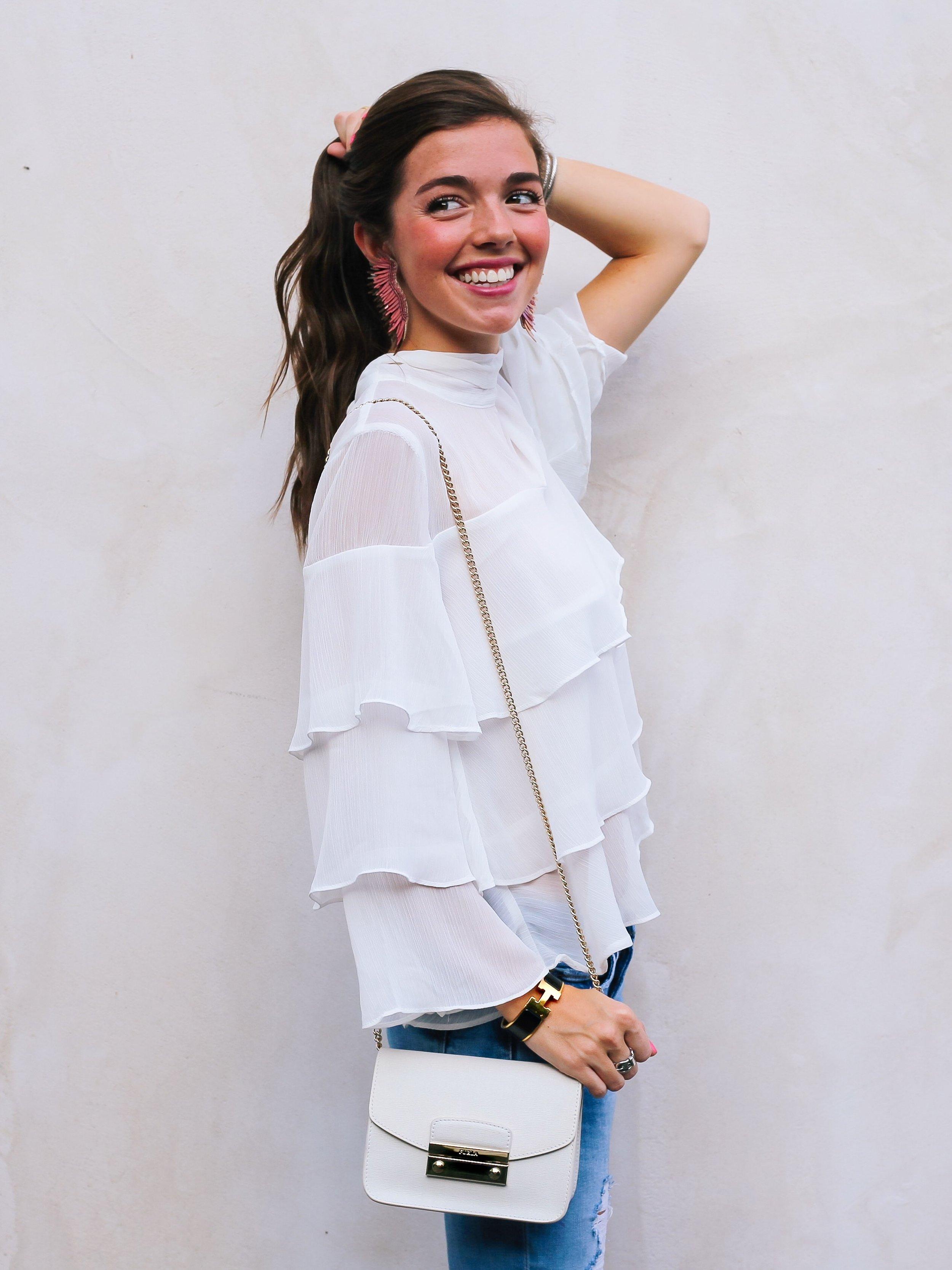 fashion blogger lcb style mignonne gavigan ruffle top schutz shoes (47 of 55)c.jpg