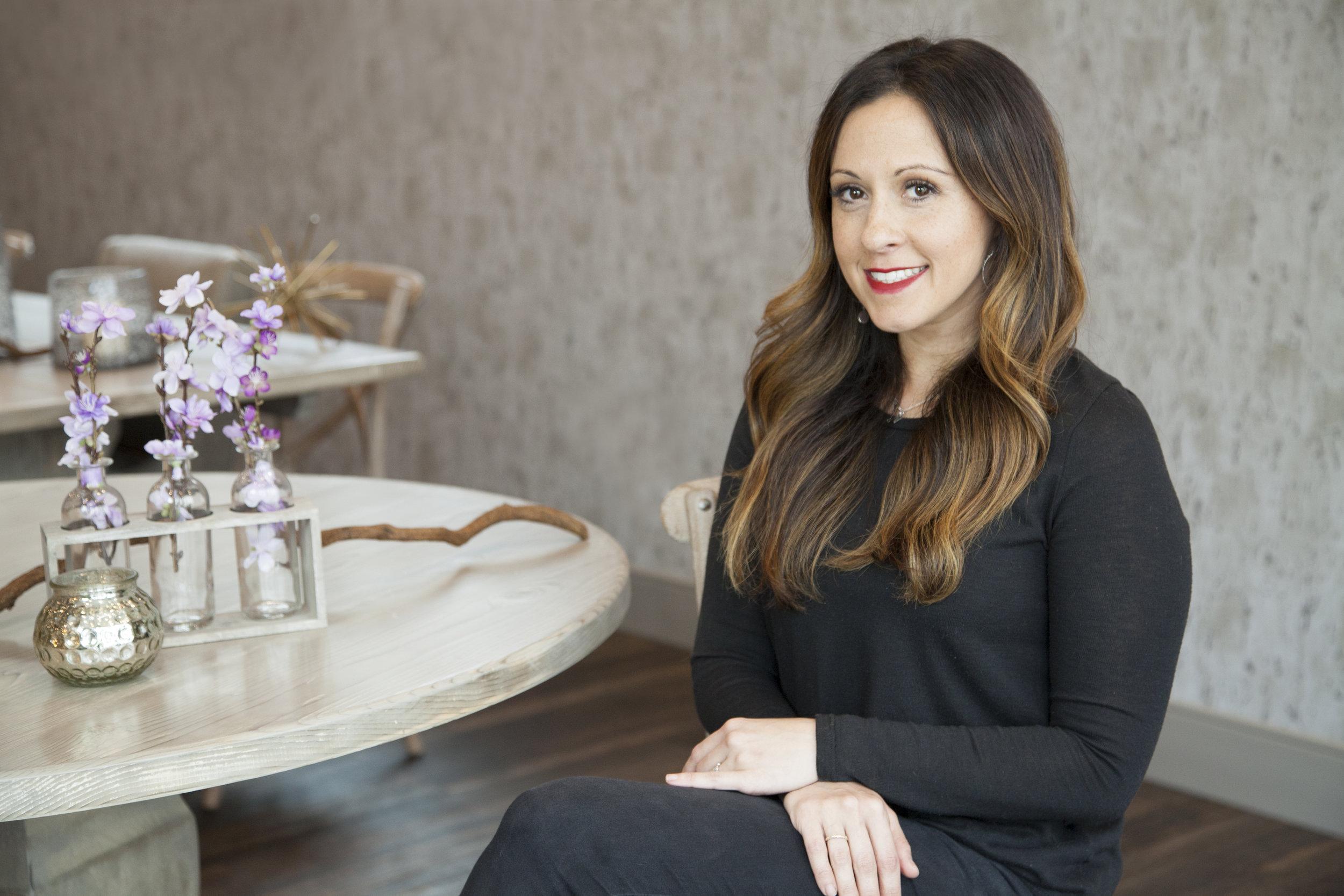 Naomi Rioux, Senior Hairstylist