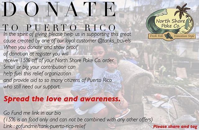 🚨Link: gofundme.com/tank-puerto-rico-relief