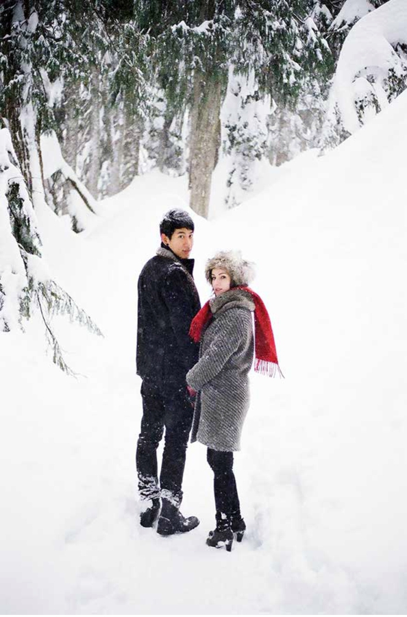 Mount Seymour Engagement Session