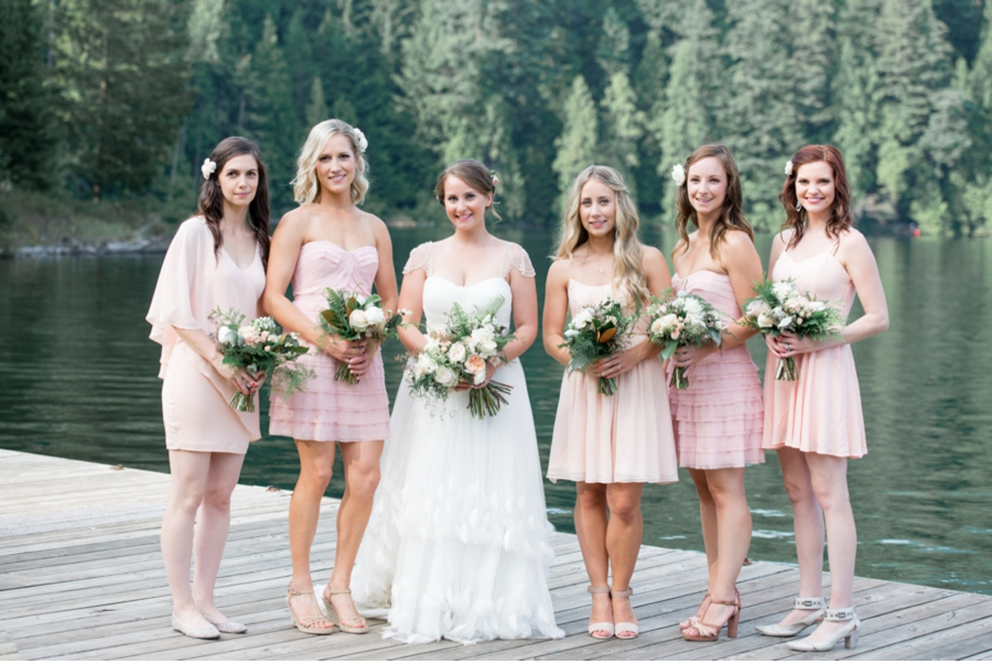 British Columbia Camp Wedding