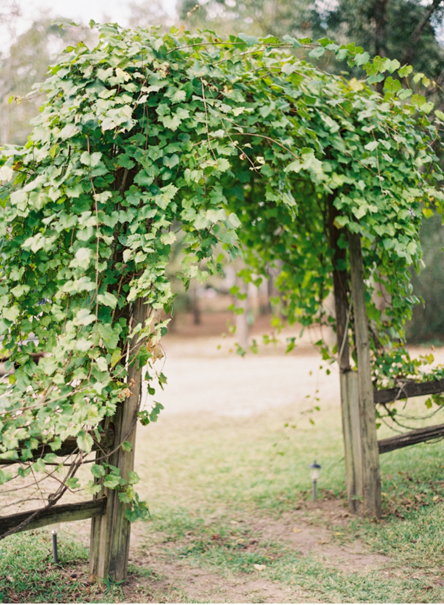Country archway in Alabama