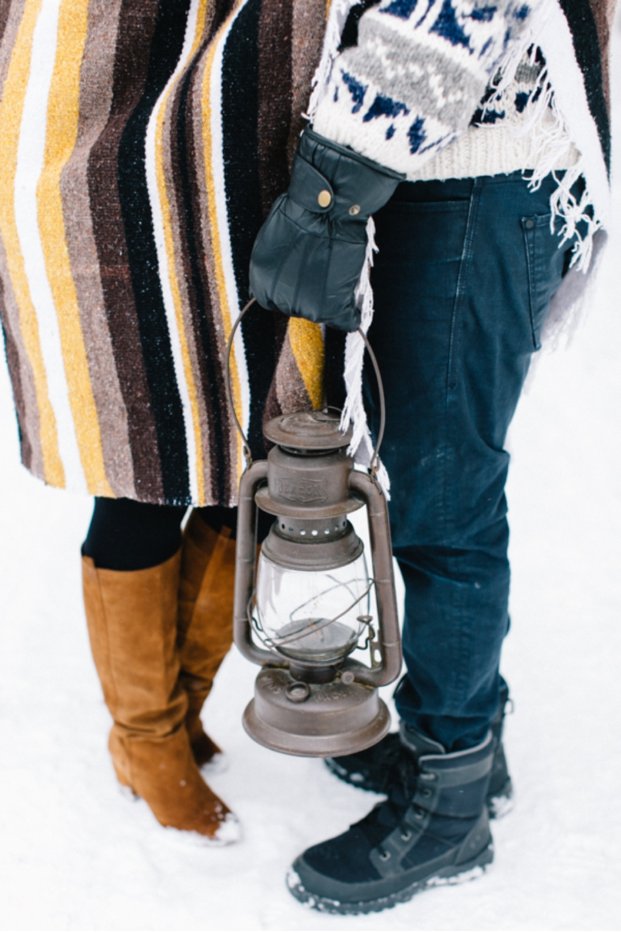 Styled-Canadian-Winter-Engagement-Session