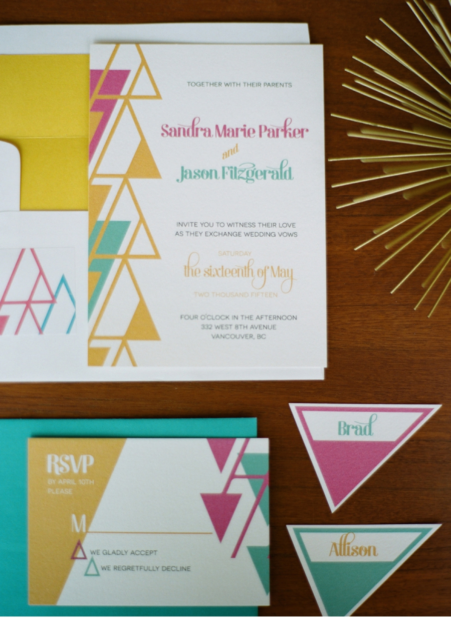 Geometric-Invitation-Suite