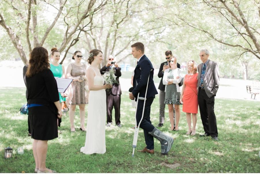 Intimate-Outdoor-Wedding-Ceremony