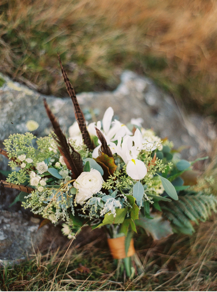 Fine-Art-Wedding-Bouquet-with-Pheasant-Feathers