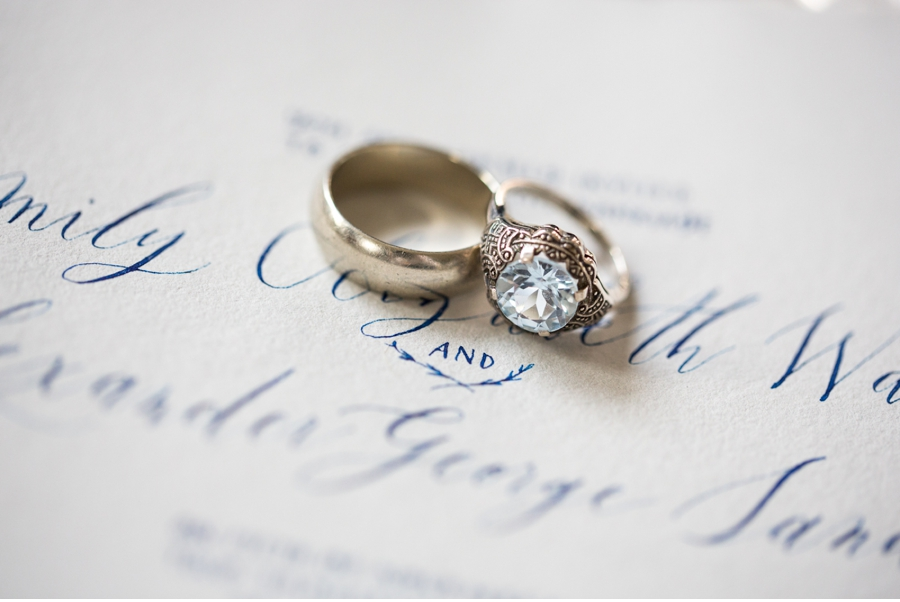 Wedding-Bands-with-Invitation