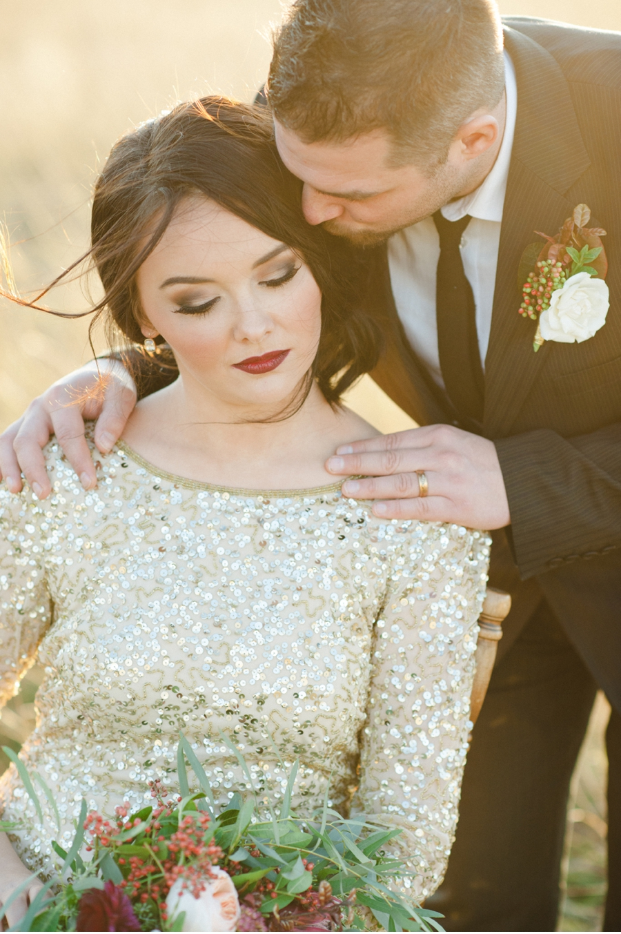 Gold-Sequins-and-Prairie-Wedding-Inspiration