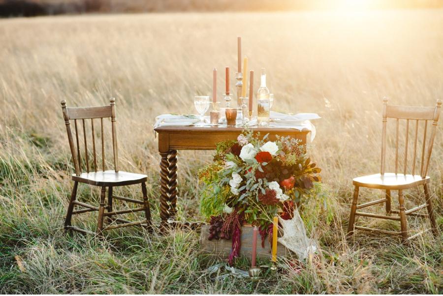 Prairie-Tablescape-Wedding-Ideas