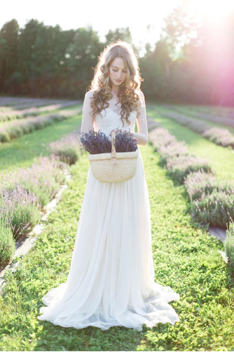 Bride-at-Lavender-Farm-Ontario