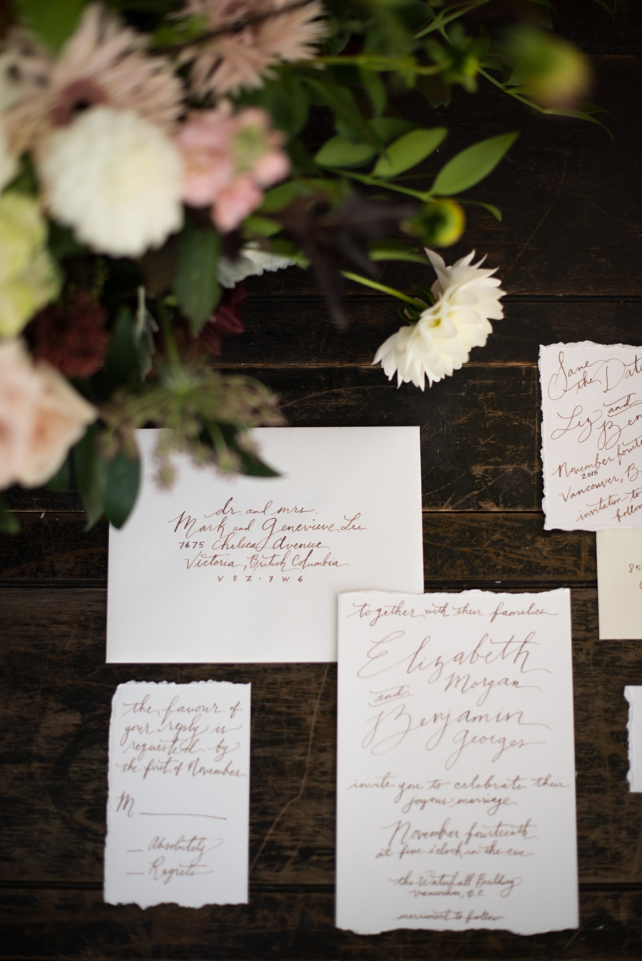 Hand-scripted-wedding-invitation-suite